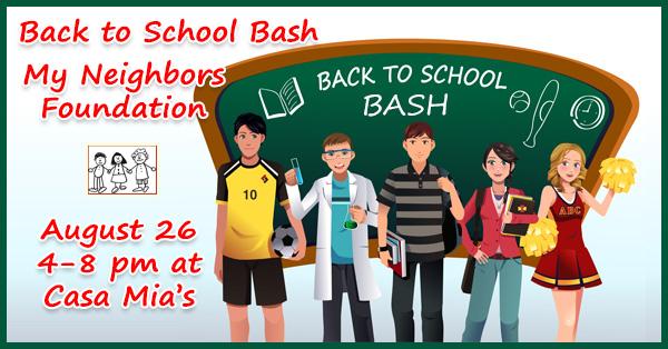 Back to School Bash at Casa Mia's Monkton