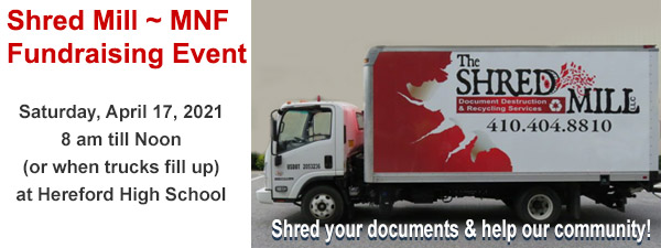 MNF 2021 Shred Event - Shred Mill / Hereford High School April 17